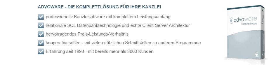 Advoware Kanzleisoftware